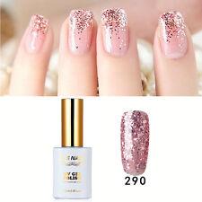 RS 290 Gel Nail Polish UV LED Soak-off Sequined Pink Lady 15ml Summer Nail Salon