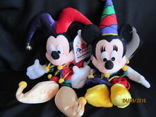DISNEY 15 YEARS TOKYO DISNEYLAND MICKEY AND MINNIE MOUSE - JESTERS