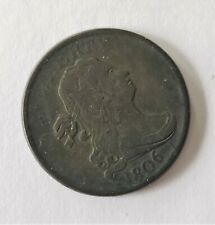 1806 US Copper Half Penny Cent Draped Bust
