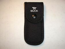 BUCK KNIFE SHEATH - BUCK 110 FOLDING HUNTER NYLON BELT SHEATH - FITS BUCK #110