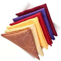 Table Napkin Comfortable Soft Napkin Elegant Printing Banquet Party Table Cloth