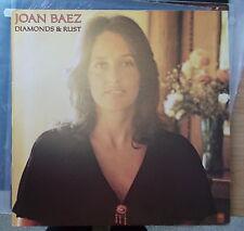 JOAN BAEZ LP: DIAMONDS & RUST (D; 89049 XOT)