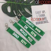 KPOP SEVENTEEN Key Chain MINGYU THE8 WOOZI Keyring VERNON JOSHUA WONWOO Key Ring