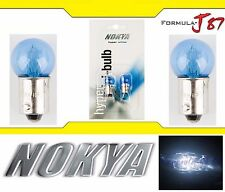 Nokya Light Bulb BA9s G14 White 8W Nok5226 Interior Signal Corner Gauge Panel
