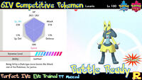 6IV COMPETITIVE LUCARIO ⚔️ SHINY / ULTRA or NOT (+ITEM!) 🛡 SWORD & SHIELD