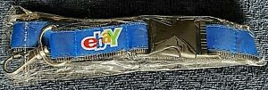 Rare 2005 eBay Blue Lanyard with 4 color logo from eBay Live Germany in Berlin