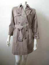 Paul Smith Beige Cotton-Twill Belted Trench Coat 42