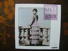 NINA SIMONE My baby just cares for me FRENCH SINGLE CARRERE 1987