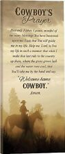 """COWBOY'S PRAYER Gallery Wrapped Canvas Print, 18"""" x 8"""", by P. Graham Dunn"""