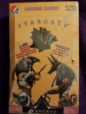 STARGATE MOVIE TRADING CARDS --- KURT RUSSELL--- SEALED BOX  36 SEALED PACKS