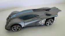 loose mint 2007 mystery car SIDE DRAFT  grey