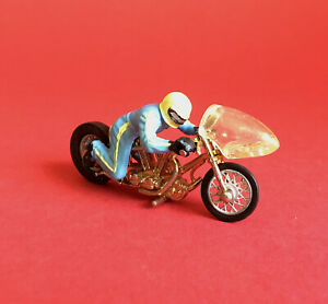 1970's Britains Drag Racer Motorcycle Rare Full-face Helmet No9683 Very Good