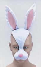 Conejo Blanco, Mascarilla Y Sonido Animales Peter Fancy Dress Costume Outfit Nuevo