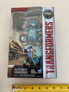 Transformers The Last Knight  SQWEEKS -Premier Edition -Deluxe Class -NEW -00210