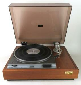 Sony TTS-2500 direct drive turntable with Sony PUA7 Tonearm - ideal audio