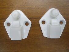 PHILIPS / EKCO HO33 HOSTESS TROLLEY DOOR CATCHES PAIR