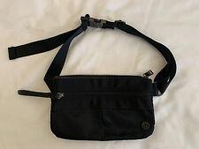 Lululemon Free Spirit Waist Bag Belt Bag Fanny Pack Bag Black Mint
