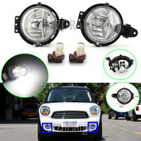 LED Left Right Front Fog Light For BMW MINI Cooper R55 R56 R57 R58 R59 Clubman