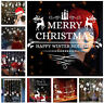 Merry Christmas Wall Art Vinyl Window Wall Stickers Decal Home Decor Removable