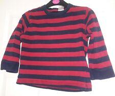 gap boy's top aged 4 yrs red