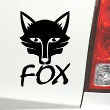 Auto Aufkleber Fox Fuchs Tier Sticker
