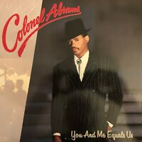 Vinyle-LP-33T : Colonel Abrams - You And Me Equals Us