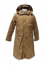 Eddie Bauer Mens Premium Quality Goose Down Long Winter Coat Tan 38 Chest