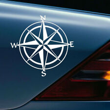 Creative PET Car Decal Compass Sticker Boat Window Door Wall Ship Sailing Anchor