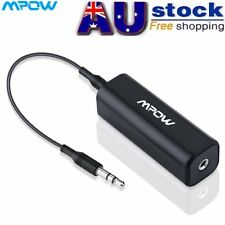 Mpow Car Home Audio Ground Loop Noise Filter Isolator Stereo 3.5mm AUX Cable