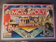 MONOPOLY Board Game Girlguiding UK girls in the lead  Limited Edition