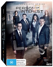 Person Of Interest - The Complete Series - Season 1 - 5 (DVD, 27 Disc-Set) NEW