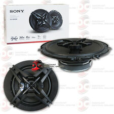 """BRAND NEW SONY 6.5-INCH 3-WAY CAR AUDIO COAXIAL SPEAKERS PAIR 6-1/2"""" 260 WATTS"""