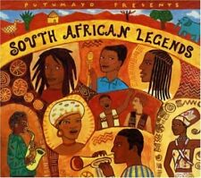 Putumayo-South African Legends (2000) + CD + Soul Brothers, Mahlathini & The ...