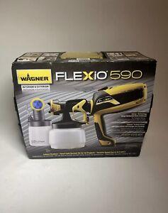 Wagner Spraytech FLEXiO 590 Handheld HVLP Paint Sprayer, USED - OPEN BOX