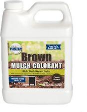 1 Qt Rich Dark Brown Mulch Color Concentrate 2800 sqft Garden Lawn Dye Spray