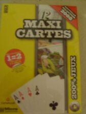 Jeu PC   Maxi Cartes neuf