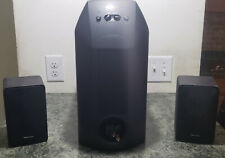 SONY SA-W10 Subwoofer + Realistic Satellite Speakers 2.1 Sorround Theater Bundle