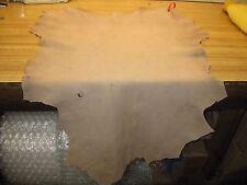 Tanned Deer Leather Hide Deer Skin Crafts # 00001389