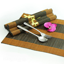 Bamboo Placemat Table mat, Vietnamese Bamboo Placemet 30 x 40cm, Set of 6