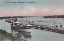 CORNWALL , Ontario , Canada, 1909 ; Canal at Longue Sault Rapids