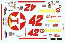 #42 Jamie MacMurray Havoline Dodge 1/24th - 1/25th Scale Decals Winscal