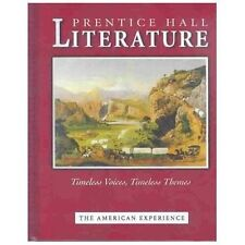 Literature : Timeless Voices Timless Themes by Prentice HALL (2003, Hardcover, …