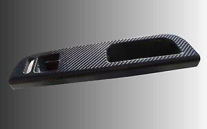 3D Carbon fibre effect black grab handle trim 2 Door to fit VW Golf Mk4 GTI R32