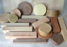 Woodturning vuoto Starter Pack-selezione mista per i principianti Ciotola & QUADRATI