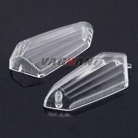 Turn Signal Blinker Lens Covers For KAWASAKI Z125 Z250 Z300 Z750R Z800 Z1000