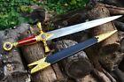 Ceremonial Masonic Dagger - Square and Compasses - Mason - Knights Templar Sword