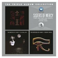SISTERS OF MERCY - THE TRIPLE ALBUM COLLECTION (VISION THING/+) 3 CD NEUF