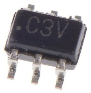 Intersil MULTIPLEXER SWITCH ICS 5Pcs 1.8/3/4.3V 6-Pins Single Ended/Differential