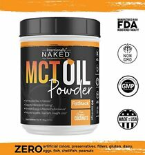 MCT Oil Powder Organic Coconuts Sustained Energy, Appetite Control, Mental Edge