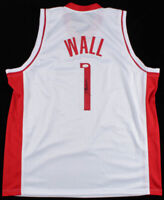 HOUSTON ROCKETS JOHN WALL AUTHENTIC AUTOGRAPHED SIGNED JERSEY BECKETT - XL
